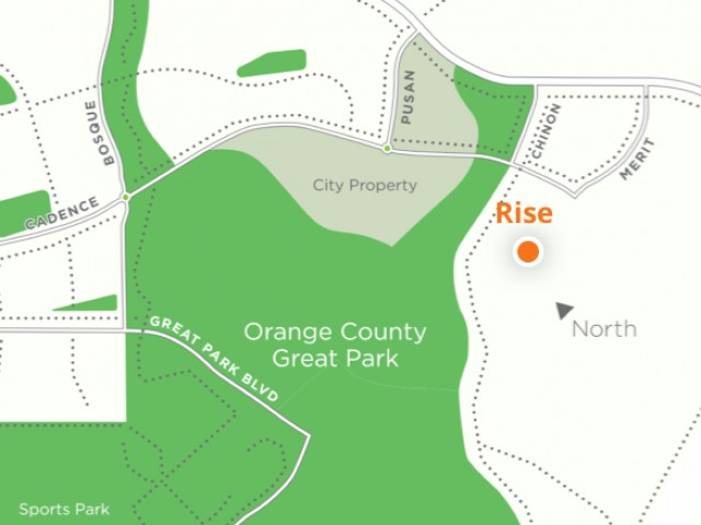 Map of Welcome Center